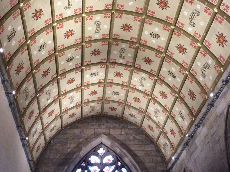 Lady Chapel ceiling images