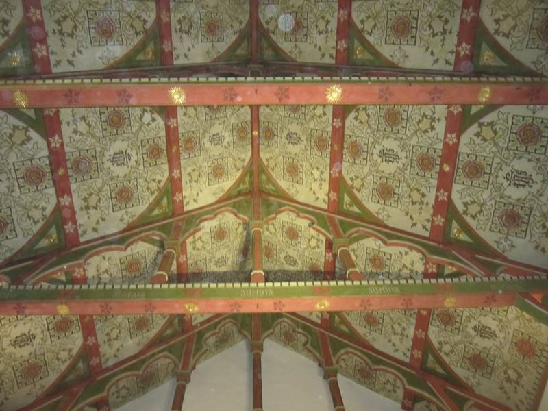 The Nave ceiling