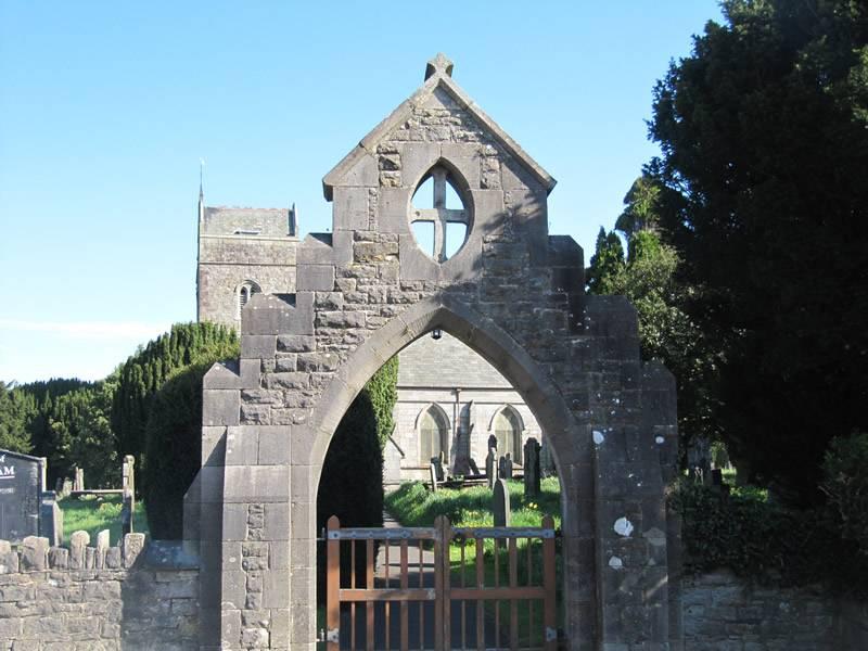 The churchyard Lychgate