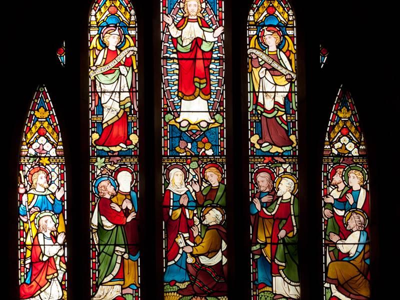 The Chancel window